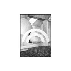 Silhouette - 50 x 70 cm | Wall art / Murals | by Lassen