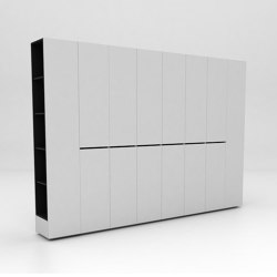 360 Assembled Storage Configuration 2 | Armoires | Isomi