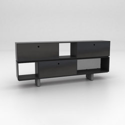 Chamfer Assembled Storage Configuration 2 | Sideboards | Isomi
