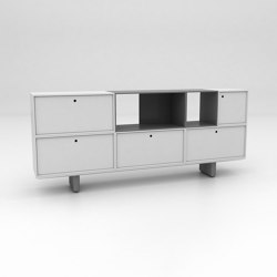 Grid Assembled Storage Configuration 3 | Buffets / Commodes | Isomi