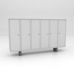 Grid Assembled Storage Configuration 5 | Cabinets | Isomi