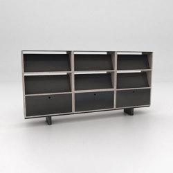 Stack Assembled Storage Configuration 8 | Shelving | Isomi