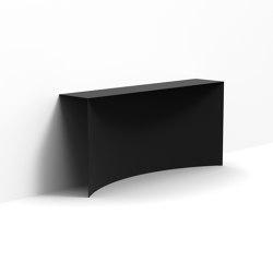 Void | console fixée au mur | Mesas consola | Desalto