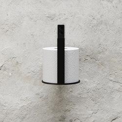 Toilet Paper Holder Extra - Black   Paper roll holders   Nichba Design
