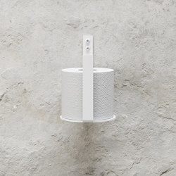 Toilet Paper Holder Extra - White | Paper roll holders | Nichba Design