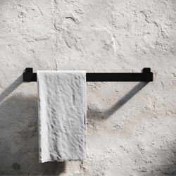 Towel Hanger - Black | Towel rails | Nichba Design