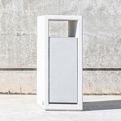 Outline Litter Bin - Inox | Waste baskets | Sit