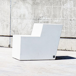 Form Bench W/Backrest | Chairs | Sit