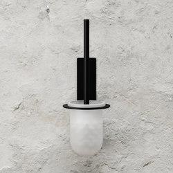 Toilet Brush - Black | Toilet brush holders | Nichba Design
