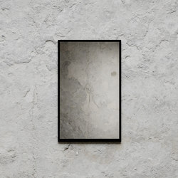 Mirror Small 49 x 79cm - Black | Mirrors | Nichba Design