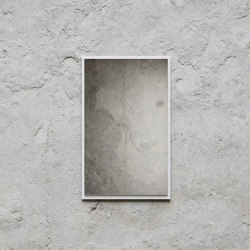 Mirror Small 49 x 79cm - White | Mirrors | Nichba Design