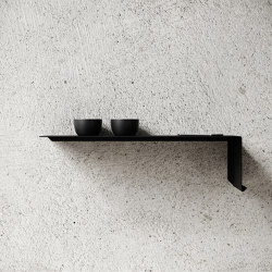 Shelve01 - Black | Étagères | Nichba Design