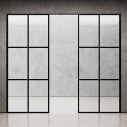 Element Room Divider Glass Wall | Wall partition systems | Nichba Design