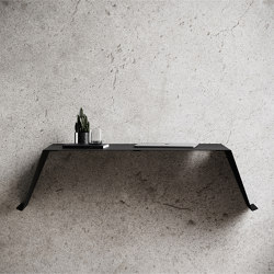 Desk01 Black - Working Desk | Desks | Nichba Design