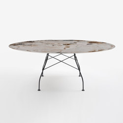 Glossy marble | Tables de repas | Kartell