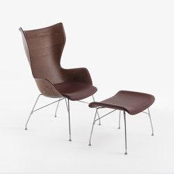 K/Wood | Sessel | Kartell
