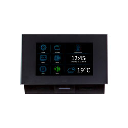 2N® Indoor Touch 2.0 black | Intercoms (interior) | 2N Telekomunikace