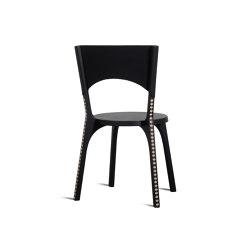 Café Tattoo Chair (carved) | Sedie | Zanat