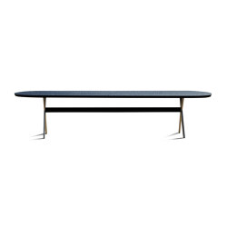 Touch Table with bronze legs | Tavoli pranzo | Zanat