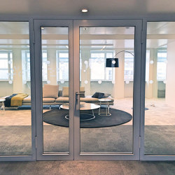 ALUPROTEC 2 leaf door | Porte interni | SVF