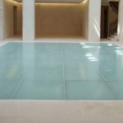ACIERFLAM GLAZED FLOORING | Glass flooring | SVF