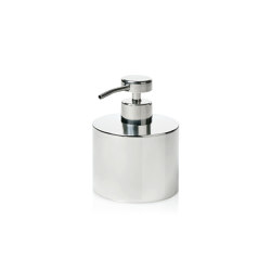 Bathroom Sets | Rnd. Shiny St/St Soap Dispenser | Soap dispensers | Andrea House