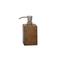 Bathroom Sets | Sq. Ox. Slate Dispenser | Soap dispensers | Andrea House