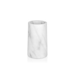 Bathroom Sets | White Marble Toothbrush Holder | Toothbrush holders | Andrea House