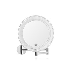 Mirrors | Round Led Ext Mirror X5 Ø19,5cm | Bath mirrors | Andrea House