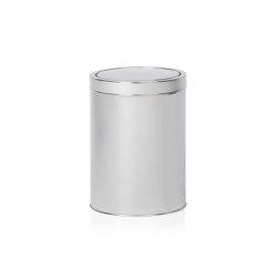 Paper Bins | S/S Bin Ø19,5X27cm. /5L | Bath waste bins | Andrea House