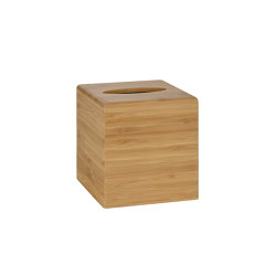 Tissue Boxes | Bamboo Tissue Box 13X13X14 | Paper towel dispensers | Andrea House