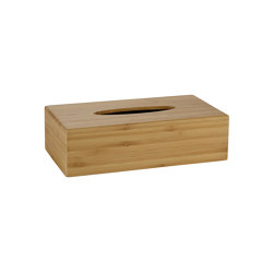 Tissue Boxes | Bamboo Tissue Box 26X14X7 | Paper towel dispensers | Andrea House