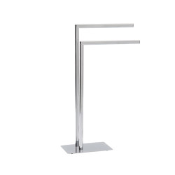 Towel Rack and Toilet Paper and Brush   Chromed Towel Rack   Towel rails   Andrea House