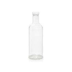 Botellas | Botella Acrilica 1L. /Ø8. 5X29. 5 | Vajilla | Andrea House