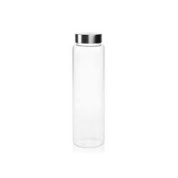 Botellas | Botella Vidrio T/Inox Ø7,5X26,5/1L | Vajilla | Andrea House