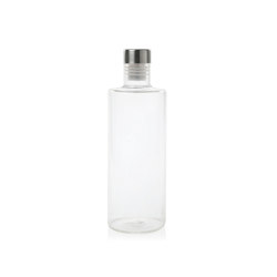 Bottles | Round Glass Bottle 1L. | Dinnerware | Andrea House