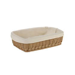 Bread Baskets | Rect. Plaited Bread Basket | Dining-table accessories | Andrea House