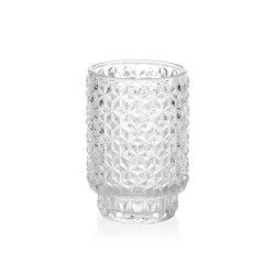 Complementos Decoración | Tealight Vidrio Trans. Ø8,5X13cm | Candelabros | Andrea House