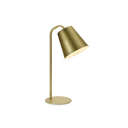 Lighting | Brass Lamp 26X15X43cm | Table lights | Andrea House
