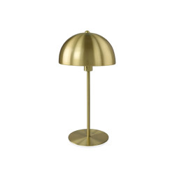 Lighting | Brass Metal Umbrella Lamp Ø20X39 cm | Table lights | Andrea House