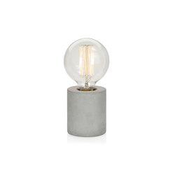 Lighting | Cement Lamp Ø8X9cm | Table lights | Andrea House