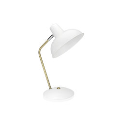 Lighting | Wh. Brass Vintage Lamp 25X19,5X37,5 | Table lights | Andrea House