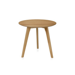 Tables | Table Ronde Chene Ø50X45cm | Tables d'appoint | Andrea House