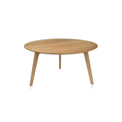 Tables | Round Oak Table Ø80X40cm | Coffee tables | Andrea House