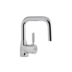 Wudu Manual Lever Pillar Tap Square | Grifería para lavabos | Specialist Washing Co. trading as WuduMate