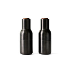 Bottle Grinder | Bronzed Brass | Salt & pepper shakers | MENU
