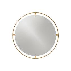 Nimbus Mirror | Polished Brass | Mirrors | MENU