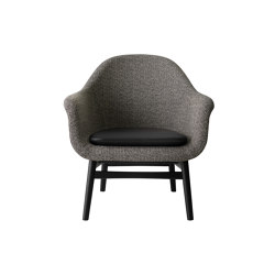Harbour Lounge Chair | Black Oak Base | Savanna 152 | Shade 20296 | Fauteuils | MENU