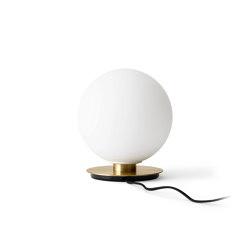 TR Bulb | Table Lamp | Brushed Brass | Matt Opal Bulb | Luminaires de table | MENU