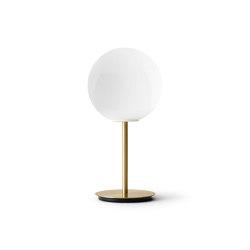 TR Bulb | Table Lamp | Brushed Brass | Shiny Opal Bulb | Luminaires de table | MENU
